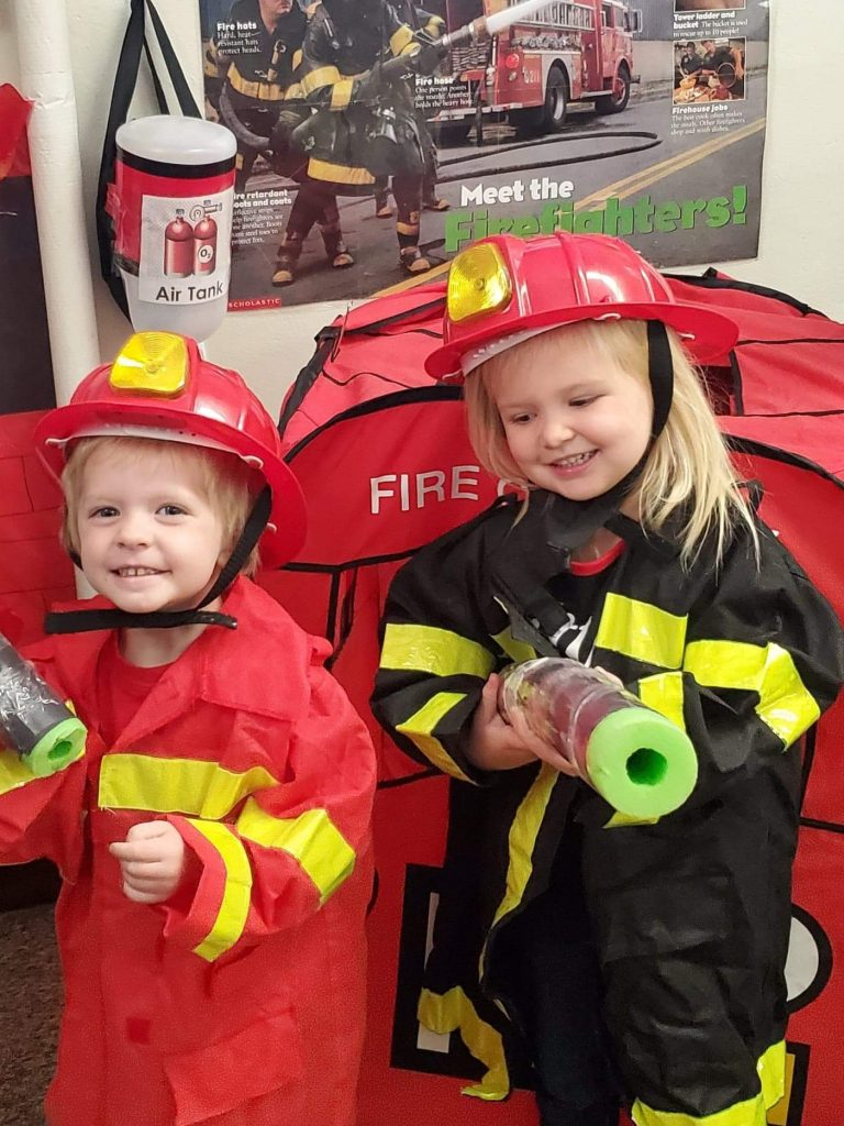 Firehouse Center in Pre-School 3 year old class