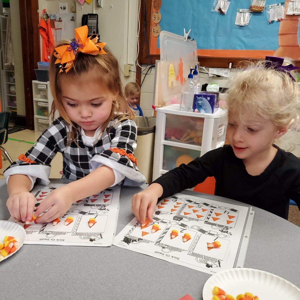 Using Candy Corn to learn Math